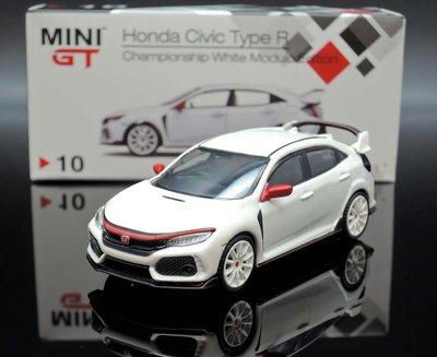 ~M.A.S.H~  Mini GT 1 64 Honda Civic Type~R FK8 Modulo 白