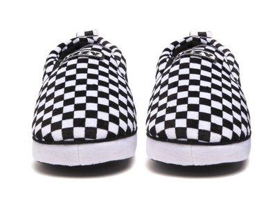 【GIANT MALL】UZZY SOCAL CHECK 棋盤格 │VANS SLIP-ON 室內 居家 拖鞋