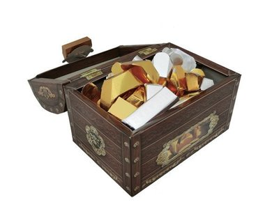 紙紮  金銀元寶箱