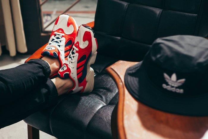 🐒悟空配色最後一雙🐒Sugar🍭Adidas Originals YUNG 1 奶油白 紅色 老爹鞋 B37615