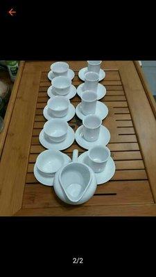 潮州白瓷薄胎泡茶組