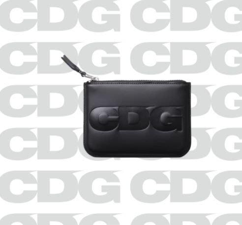 全新商品 CDG Logo Pouch 字母 卡包 小零錢包