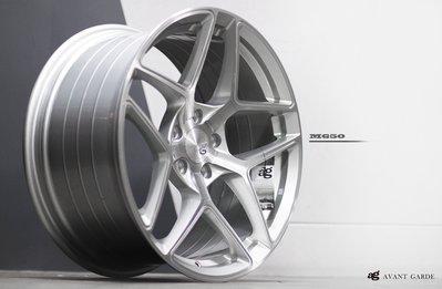 CR輪業 全新 美國 AG M650 19吋鋁圈 旋壓輕量化 髮絲銀 5/114 5/112 5/120