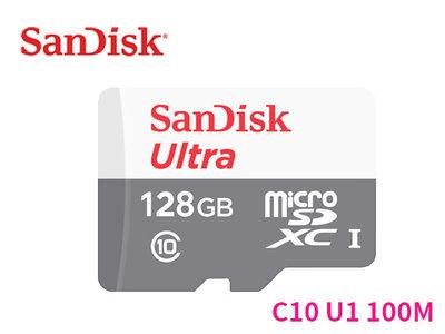 「ㄚ秒市集」Sandisk Ultra microSD TF 128G 128GB 100M C10 記憶卡 無轉卡