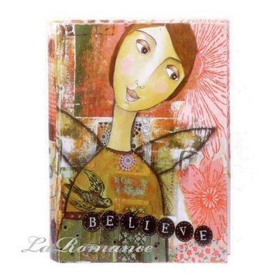 【Creative Home】Heart & Home 心戀家居系列紙製書本造型收納盒 - 中 (believe) / 書盒