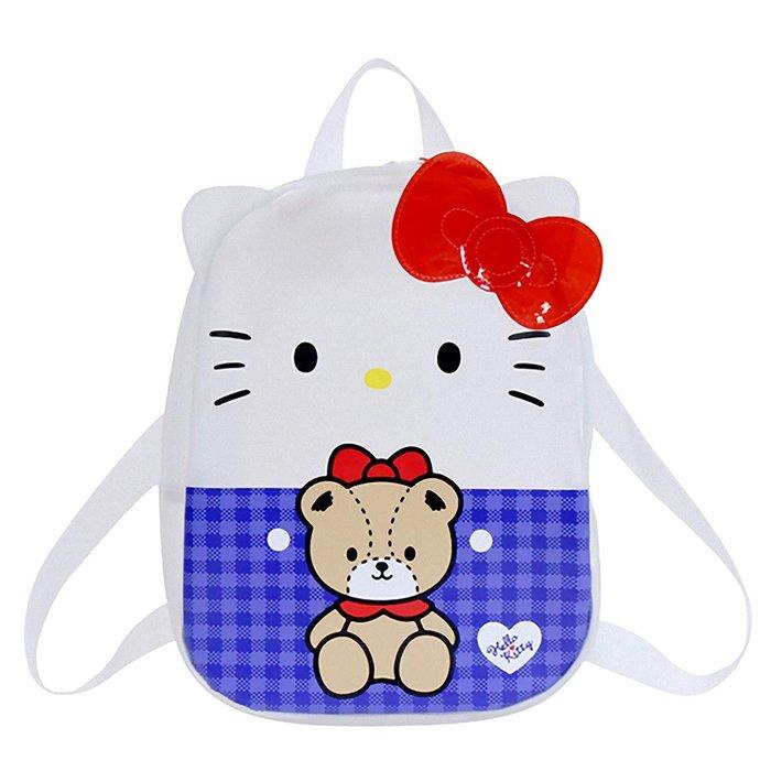 Hello Kitty 透明造型後背包 三麗鷗