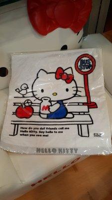 GIFT41 4165本通 三重店 Hello Kitty 凱蒂貓 蘋果 牛奶 長毛巾 4901610459232
