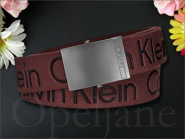 美國官網 Calvin Klein CK 卡文克萊百搭休閒皮帶 童軍腰帶可拆皮帶頭M  L號 S號售完 愛COACH包包
