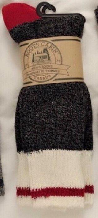 現貨新品…全新Roots正品男大人長針織襪一組兩雙!