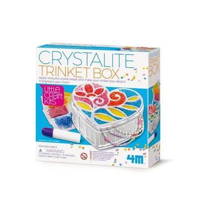 水晶珠珠寶盒 Trinket Box 適合5歲以上 創意美術DIY