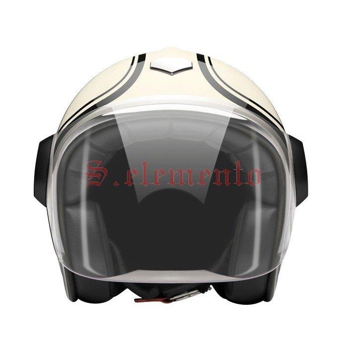 【預購優惠】Ateliers Ruby 安全帽 Belvedere Moosacher 碳纖維 3/4 復古帽