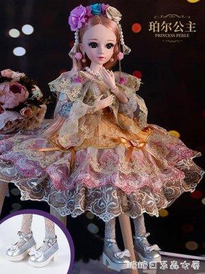 超低價 芭比娃娃-60厘米芭比洋娃娃套裝大號禮盒女孩公主超大仿 來福客棧