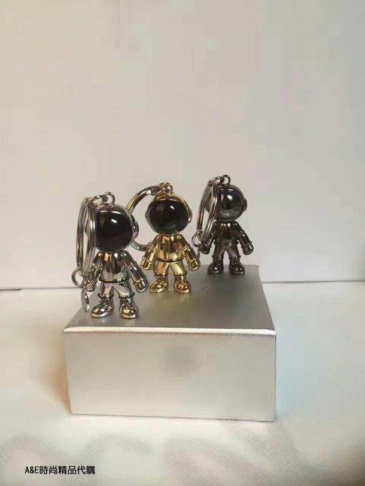 A&E精品代購agnes.b 時尚金屬 太空人鑰匙圈 日本代購