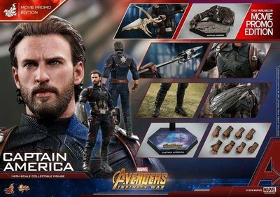 (已可取單)Hottoys MMS481 Avengers Infinity war Captain America (Movie Promo)