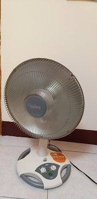 二手 SAMPO 聲寶14吋鹵素電暖器 HX-FC14F