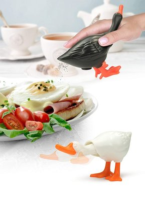 【beibai不錯買】日系雜貨 zakka 日本進口 造型雙鴨調味罐 Pepper&Salt shaker