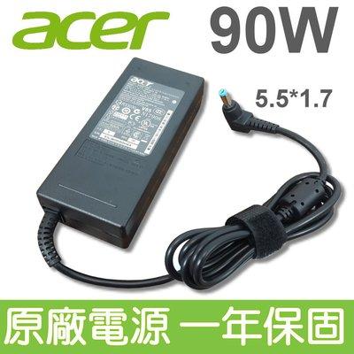 ACER 宏碁 90W 原廠變壓器 電源線 TM  7220G, 7364, 7510,7520, 7520G,