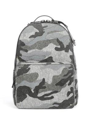 VALENTINO - 灰色迷彩背包