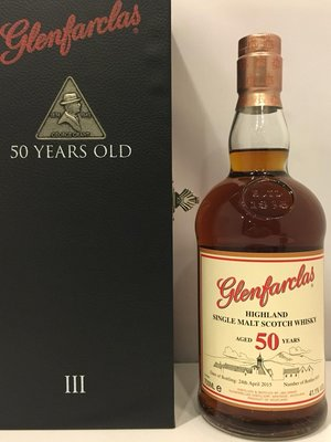 Glenfarclas 50 years Scotch Whisky 700ml 格蘭花格 50年威士忌