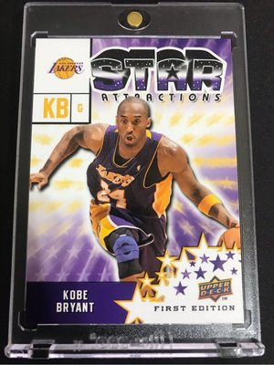 🐍2009-10 Upper Deck First Edition Star Attractions #SA-1 Kobe Bryant