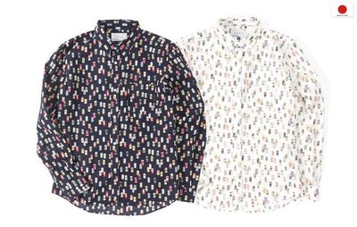 { POISON } LESS L/S ALL OVER BEVERAGE CAN PATTERN SHIRT 長袖襯衫