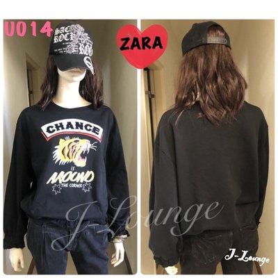 U014 全新ZARA 運動踢大學美式休閒casual t-shirt Sports wear J-Lounge