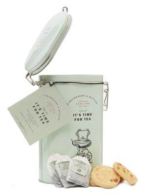 (預購)CARTWRIGHT & BUTLER 茶包與餅乾組合 240g