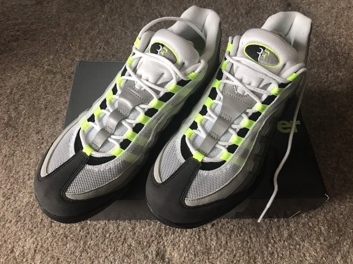 sports shoes 70b1e 726b0 Nike Zoom Vapor RF X Air Max 95 - Size 11 Roger Federer 費德勒-Yahoo奇摩拍賣