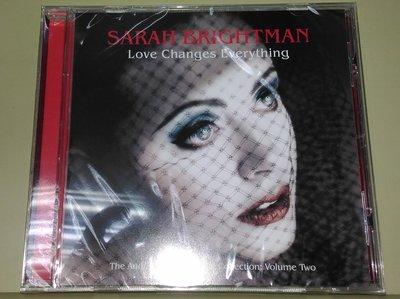 正版CD《莎拉布萊曼》愛無限 - 安德烈洛依韋伯名作特選之二/Sarah Brightman LOVE CHANGES