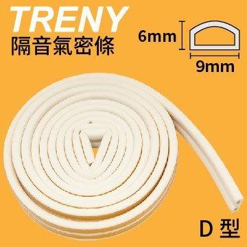 【TRENY直營】隔音氣密條(2L) 2.5米-白 D0906 快速填縫 隔絕風沙灰塵 加強隔音 HD-H-36C