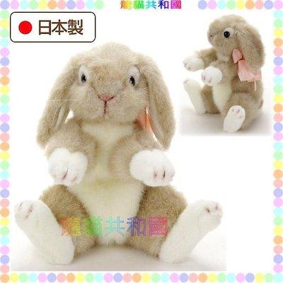 ※龍貓共和國※日本製《CUTE超逼真 仿真擬真 小白兔 兔子 兔寶寶 絨毛娃娃 布偶玩偶30公分》生日情人聖誕節禮物