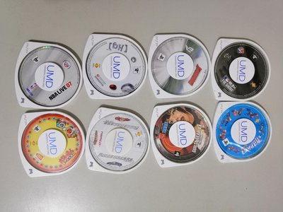 PSP遊戲光碟8片