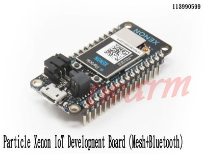 《德源科技》r) 原廠 Particle Xenon IoT 開發板 (Mesh +藍牙) (113990599)