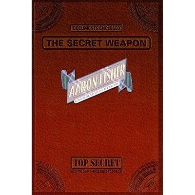 【意凡魔術小舖】[魔術魂道具Shop] 美國原版~The Secret Weapon by Aaron Fisher~秘密武器