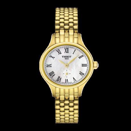 Tissot 天梭臻時系列鋼帶石英女腕錶 T1031103311300