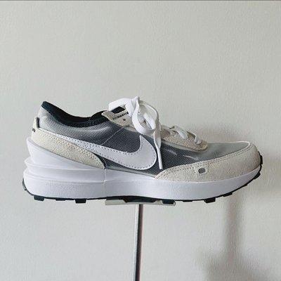 全新正品NIKE WAFFLE ONE 小SACAI 灰白 女鞋 DC0481 100