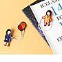 U-PICK原品生活 阿拔系列刺繡胸針 復古設計 原宿女孩 衣服 包包 配飾 徽章