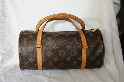 經典 知名品牌 路易威登 { LV }M51385 大款 圓桶包 手提包 側背包