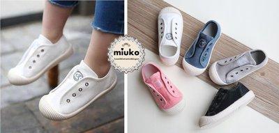miuko BABY款日本兒童男女寶寶男童女童 自留款 水洗 魔鬼氈 休閒鞋 帆布鞋