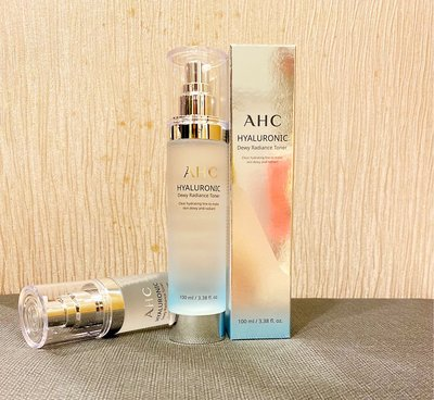 【38日韓】韓國 AHC 玻尿酸精華化妝水 神仙水 100ml  2020年新包裝上市