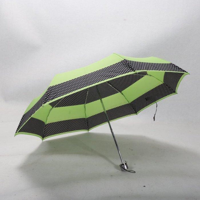 奇奇店-顏色很青春紅點三折藝術波點熱轉印晴雨傘#加固 #小清新 #晴雨兩用