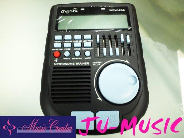 造韻樂器音響- JU-MUSIC - Cherub Drum Trainer WRW-206 訓練機 節拍器 超越 TAMA