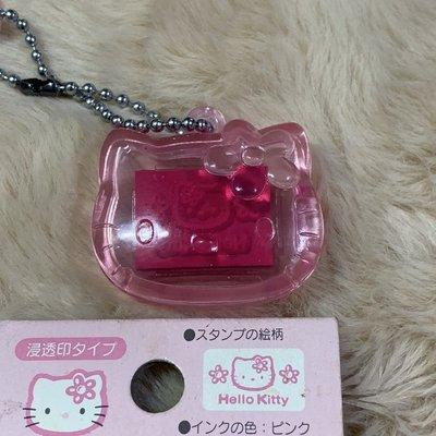 三麗鷗 Hello Kitty 凱蒂貓 印章 吊飾 日本 正版