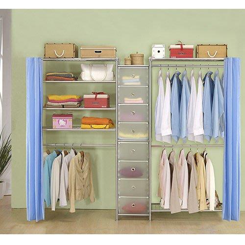 【中華批發網DIY家具】D-62A-11-W2型90+pp+W4型90衣櫥置物櫃-(前罩)不織布