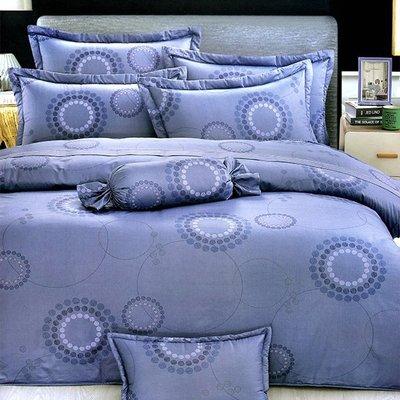 床包被套組~mit精梳純棉印染  雙人床包兩用被四件組~【芃云生活館】