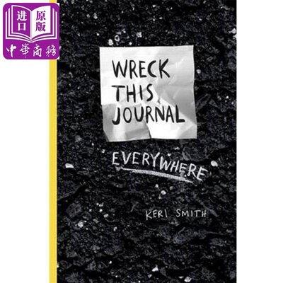 Wreck This Journal Everywhere 英文原版 創新從破壞開始