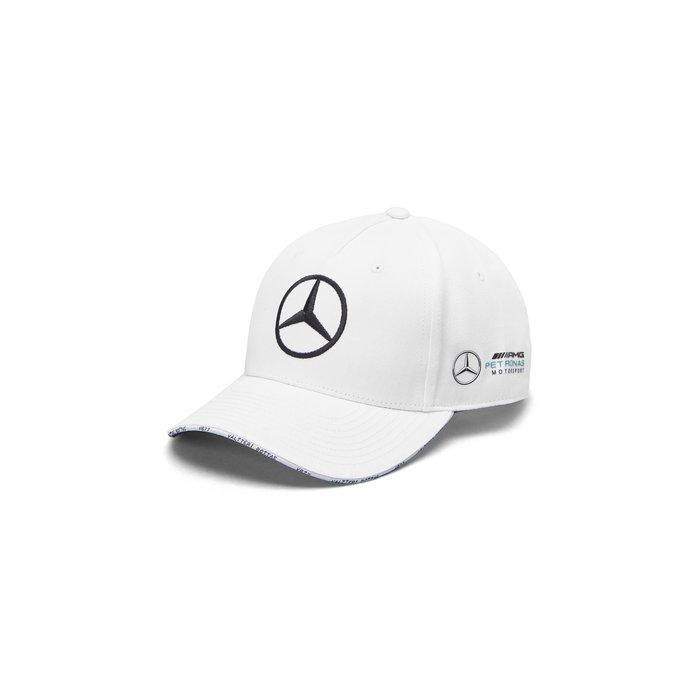 Mercedes AMG Petronas  2019 Bottas 白色車手限定款棒球帽