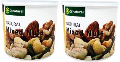 O'natural 歐納丘 綜合堅果特惠組(150g*2罐)