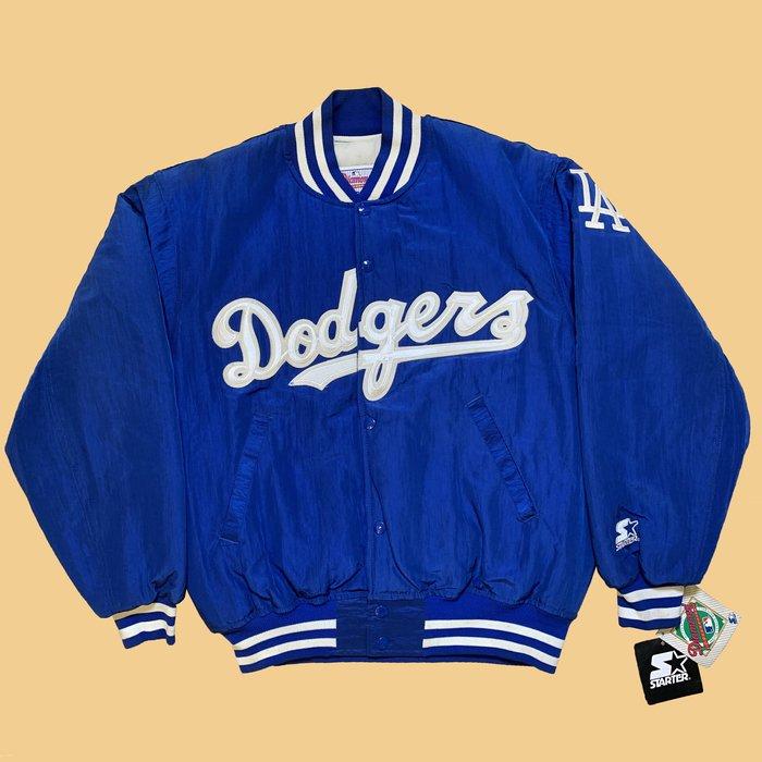 JCI:Vintage Starter MLB 洛杉磯 道奇隊 經典棒球外套 / 嘻哈古著 / 90s / 西岸