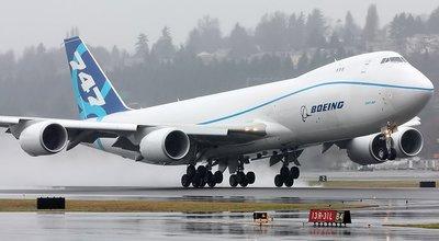 **飛行夢想家**波音航空原型機&747-8F&1:200&德國精品hogan&航空迷精緻典藏!!!